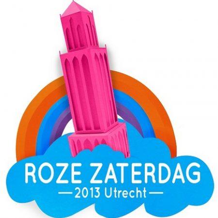 Roze Zaterdag 2013 op 29 juni in Utrecht
