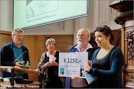Kira Wuck wint Eline van Haarenprijs 2013