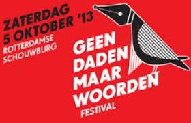 Geen Daden Maar Woorden Festival