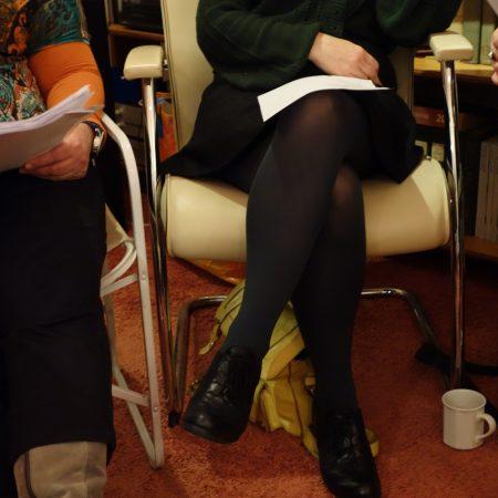 Dirkje Kuik gelezen in de Poëziegroep
