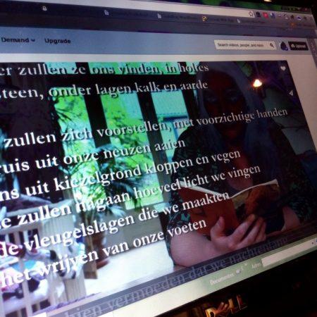 De Poëziegroep las Hanneke van Eijken