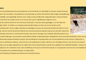 Vrouwkje Tuinman wint de Grote Poëzieprijs